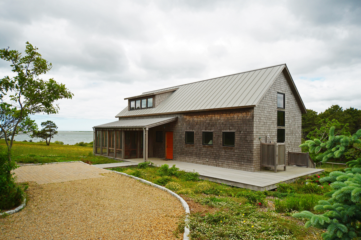 Guest House Construction : Chappaquiddick guest house construction built by knight
